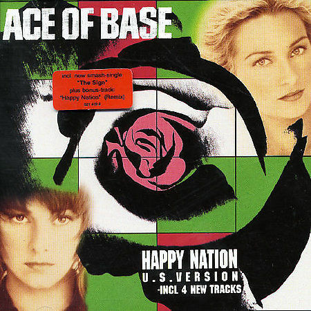 1 of 1 - Ace of Base - Happy Nation (U.S.Version) /4