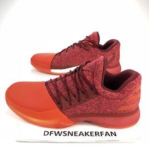 95a36270702d ADIDAS Harden VOL.1 Men SZ 15 SNEAKERS B39501 Basketball Shoe Red ...