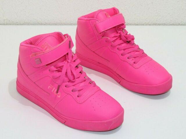 ddb08fb38f675 Fila Mens Vulc 13 MP Mid Plus Tonal Hot Pink Size 9(US) 40(EUR) Sneakers