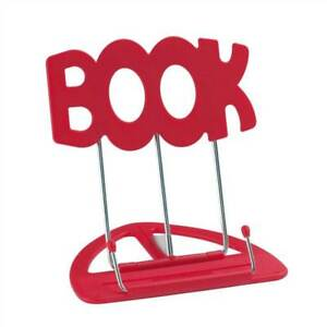 The-039-BOOK-039-Stand-Book-Holder-Red