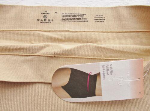Shape Slip XL 46 48 50 figurformend Lingerie Shapewear Höschen Seamless haut