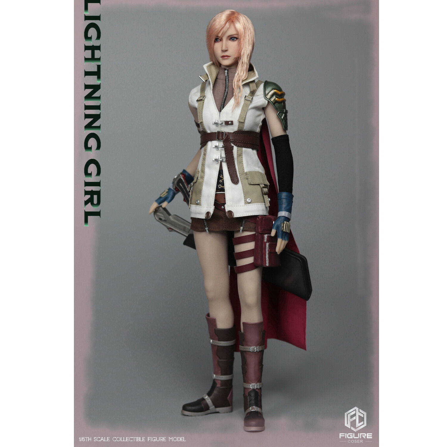 FIGURECOSER COS002 1 6 Scale Lightning Girl Figue without Body