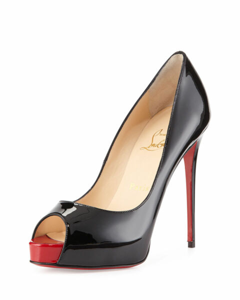 huge selection of fae39 70319 100% AUTHENTIC NEW WOMEN LOUBOUTIN VERY PRIVE RED TOE HEELS ...