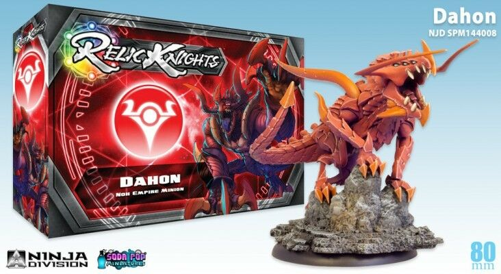 RELIC KNIGHTS DAHON NEW