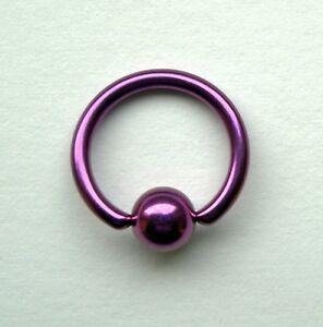 BCR-Klemmring-TITAN-pink-Piercing-Ring-in-2-Groessen-lieferbar-Studio-Ware-NEU