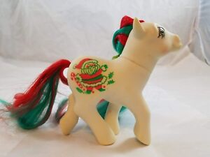 My Little Pony G1 Ponies Vintage Merry Treat Christmas Holiday 1989 Ebay