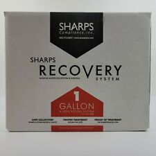Sharps Recovery System 1 Gallon Syringe Disposal Containers New In Box
