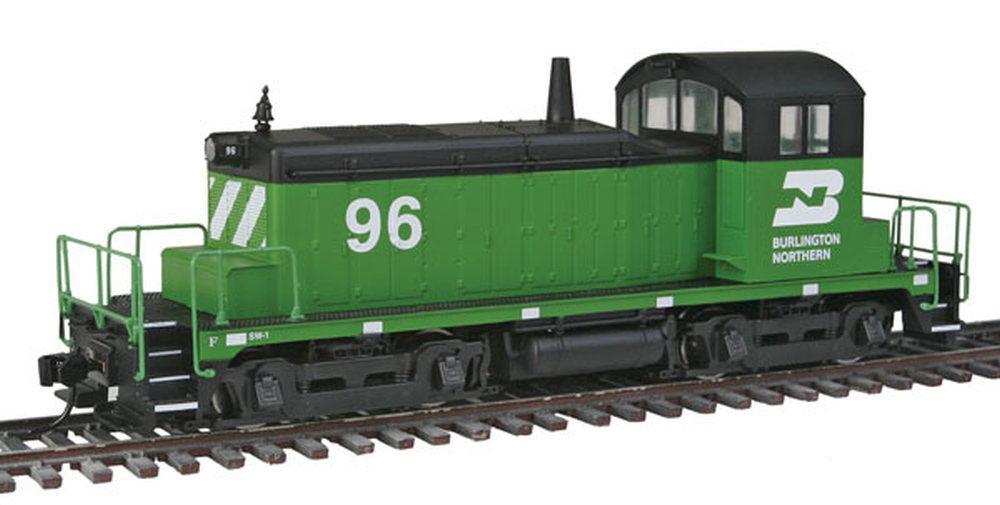 Walthers Mainline - EMD SW1 - Standard DC -- Burlington Northern  96 - HO