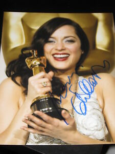 MARION-COTILLARD-SIGNED-8x10-INCEPTION-BATMAN-COA-NY-E
