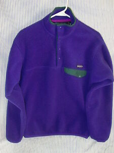 PATAGONIA-SNAP-T-Type-PULLOVER-Ladies-Size-Small-in-Nice-Condition