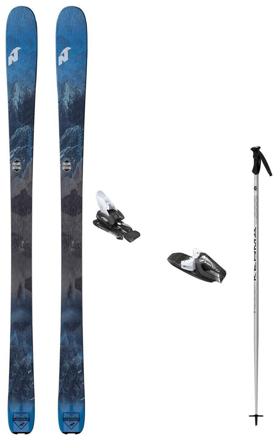2019 Nordica Navigator 85 snow skis 165cm w-Binding (poles incl  at BuyItNow) NEW  sale outlet