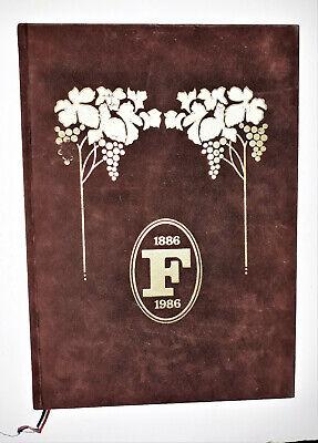 Centenaire De Fauchon -1886/1986- Beau Livre