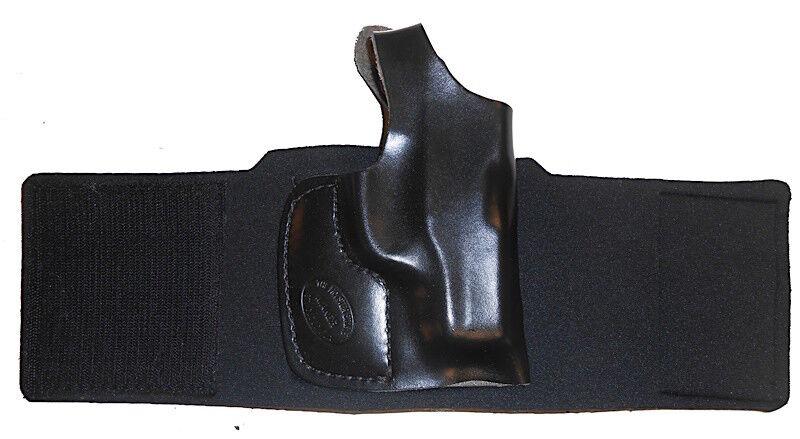 Pro Carry Funda De Tobillo-Funda Pistola LH RH Para Ruger SP101 3 in (approx. 7.62 cm)