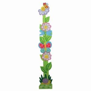 Teamson Kids Girls Wooden Growth Chart   Magic Garden Room Collecti ID  2239517