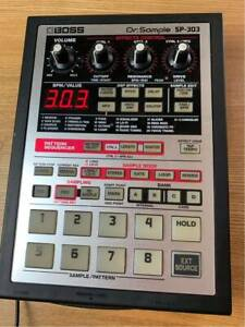 BOSS-SP-303-Dr-Sample-Sampler-with-Power-Supply-Pro-Audio-Equipment