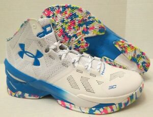 Image is loading UNDER-ARMOUR-UA-CURRY-2-1259007-103-SURPRISE-
