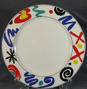 Studio-Nova-YA056-COLOR-MURAL-Dinner-Plates-11-034-Geometric-Multi-color-M2