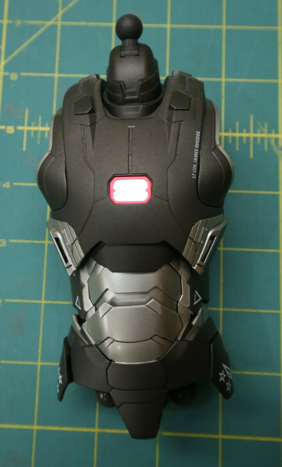 Hot Toys MMS198D03 War Machine Mark II Torso from Iron Man 3 Movie on eBay thumbnail