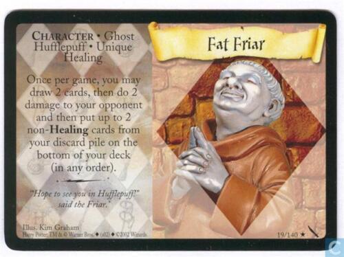 Harry Potter TCG Chamber of Secrets Fat Friar 19//140