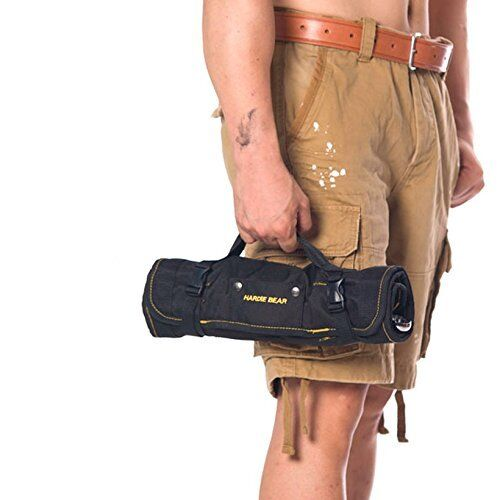 Crazy Ants Reel Rolling Tool Bag Pouch Professional Electricians Organizer