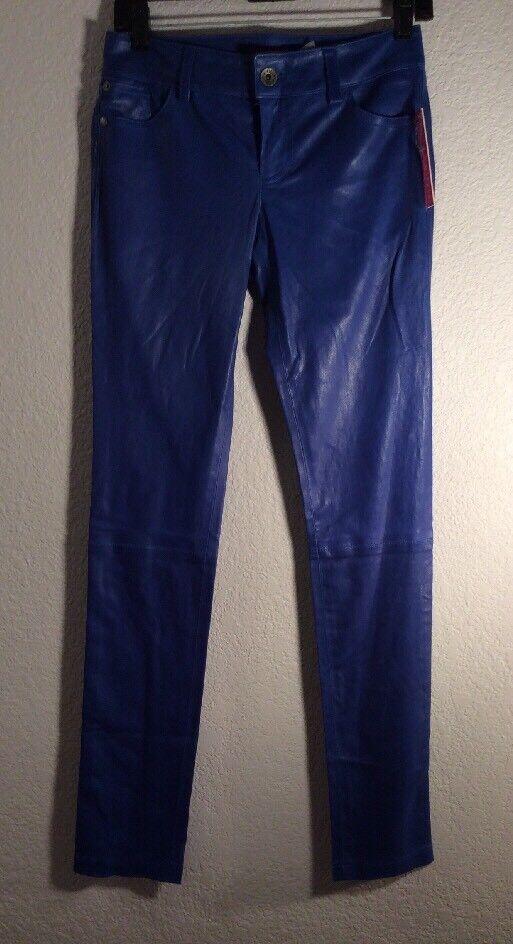 New Authentic Alice + Olivia Leather Pants 2