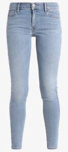 Levi-039-s-710-Super-Skinny-Jeans-Mid-Rise-Jeans-Aviator-blau-Groesse-28w-32l