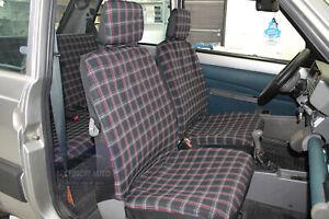 Coprisedili per Fiat Cinquecento 1991>1998 fodere per sedile auto copri  set