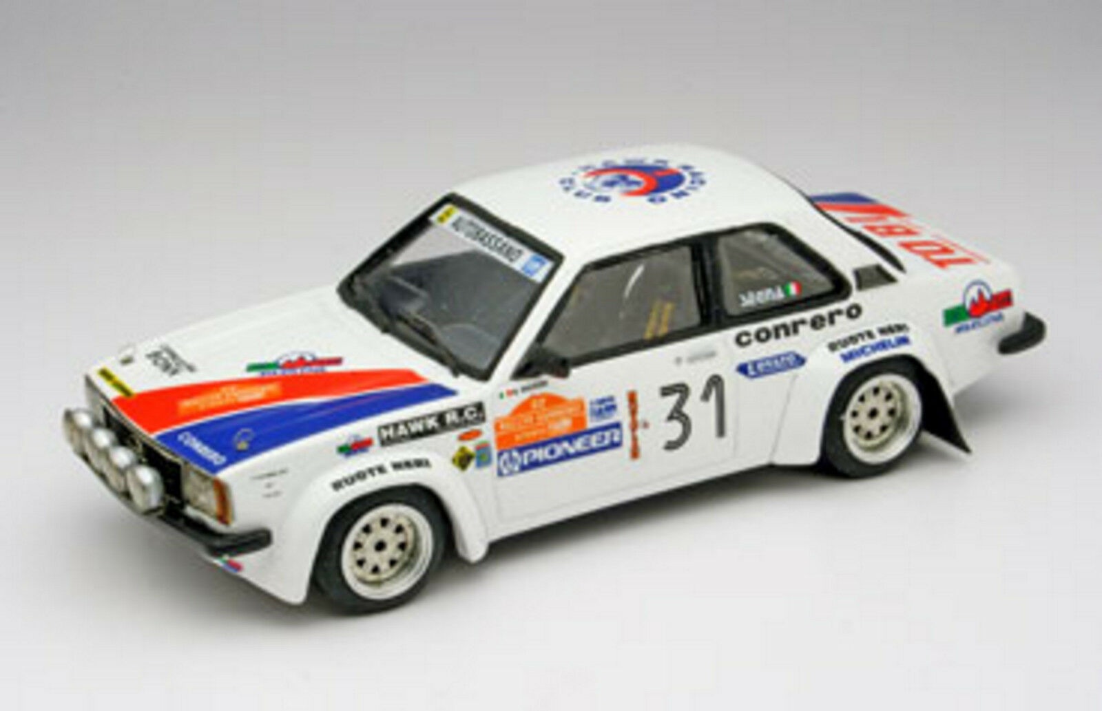 Kit Opel Ascona B 2000 Gr.2 Rally Sanremo 1980 - Arena Models kit 1 43