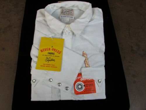 NOS Vintage Rockmount Custom Fitted Ranch Western