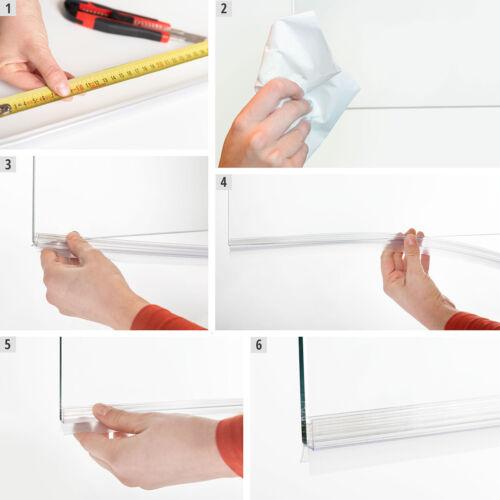 Duschdichtung Duschtürdichtung Schwallschutz Ersatzdichtung Wasserabweiser UK09