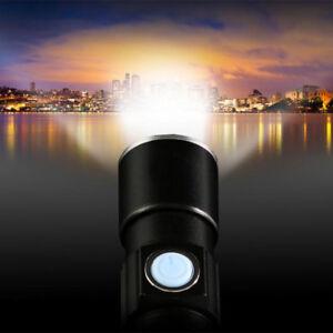 1X-Velo-Lumiere-Eclairage-Avant-Feu-Torche-Lampe-Poche-etanche-USB-Rechargeable