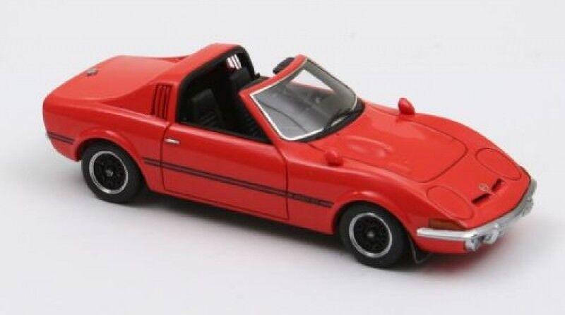 Neo Opel GT Aero 1969 red offen 1 43 limitiert