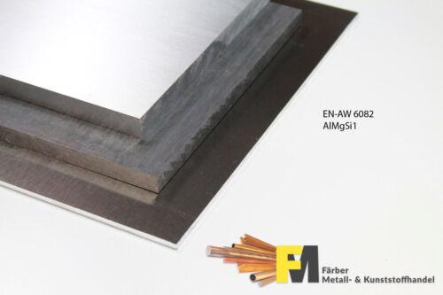 Aluminium Alu  10mm Blech Platte AW 6082 AlMgSi1 Alublech
