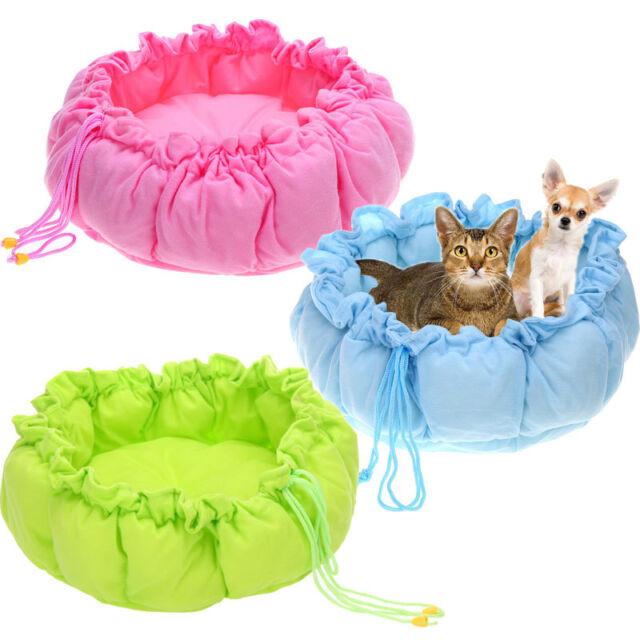 Pet Puppy Dog Cat Soft Pet Sleeping Bag Warm Cushion Cozy Bed Nest Mat Kennel