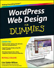 WordPress Web Design For Dummies by Lisa Sabin-Wilson (Paperback, 2011)