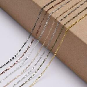 5m-Oval-Link-Necklace-Chain-for-DIY-Bracelet-Jewelry-Making-Findings-Accessories