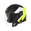 BT EKO MATT FLUO YELLOW-BLACK casco jet moto ORIGINE PALIO 2.0