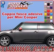 Mini Cooper - Fasce adesive a 1 colore - cod. art. cx68