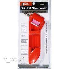"Drill Bit Sharpener 5/64"" to 1/2 Bits, Titanium Portable Drill Powered Tool NEW"
