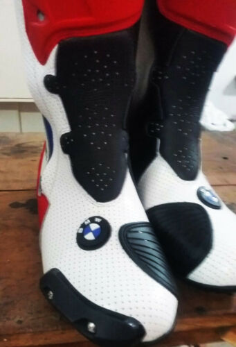 Motorcycle Boots Motorbike Sports Racing Track Road shoes for BMW