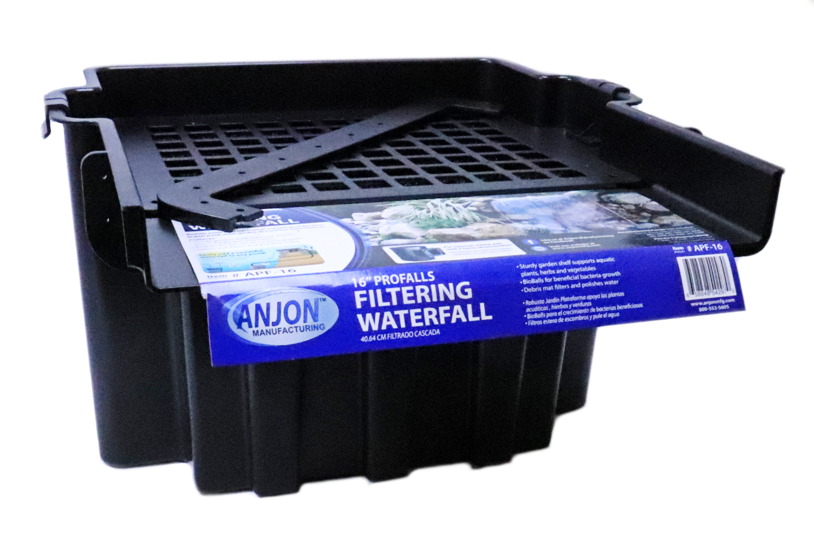 Anjon APF-16 ProFalls Waterfall Spillway and Biofilter for Ponds - 16
