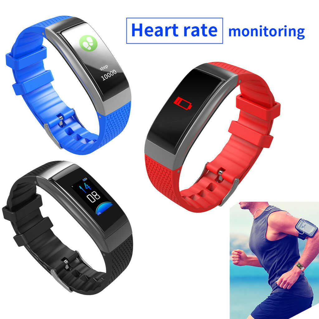 Smart Watch Fitness Tracker Heart Rate Blood Pressure for Samsung iPhone LG Moto