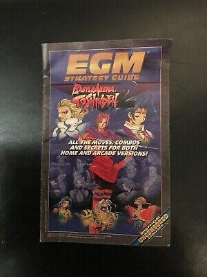 Egm Strategy Guide Battle Arena Toshinden 2 Magazine Insert