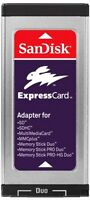 SanDisk ExpressCard - Express Card adapter (Support SDHC, MMC, SD, MS Duo, MS PRO Duo, MM Plus, Memo... (SDAD109J65)