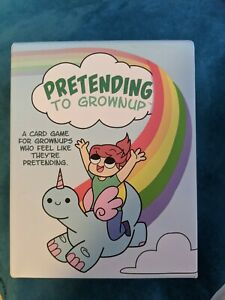 Pretending-to-Grownup-Card-Game-by-Jason-Anarchy-Games-Kickstarter-pre-owned