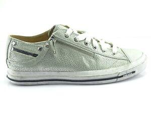 Diesel-EXPO-ZIP-LOW-Sneaker-Damenschuhe-Shoe-Women-Turnschuhe-Leder-Gr-39