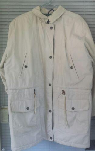 London Raincoat 12 Vtg Coat Termisk Jakke Størrelse Foret Thinsulate Kaki Tåge Reg dxxvYwqH