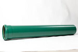 1m kg rohr dn 160 gr n abflussrohr kanalrohr abwasserrohr sn10 pvc u rohr neu ebay. Black Bedroom Furniture Sets. Home Design Ideas