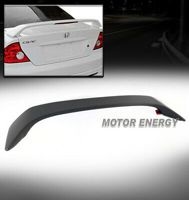 For Honda Civic 2D 2D 01-05 ABS Trunk Rear Wing Spoiler Unpainted Smooth Primer