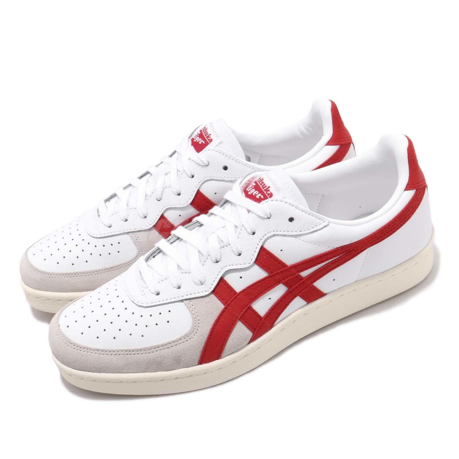 Asics Onitsuka Tiger GSM blanc Classic rouge Men Casual chaussures baskets 1183A353-101